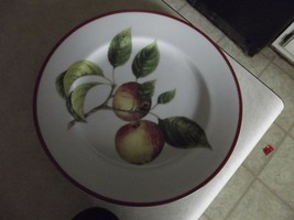 Williams Sonoma WSO66 ( 2 red and yellow apples) salad plate 1 available - $10.99