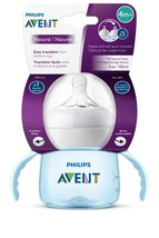 Philips Avent My Natural Trainer Sippy Cup, Blue, 5oz, 1pk, SCF262/01 - $17.99