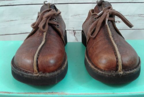 Dexter Women Size 6M Brown Leather Comfort Lace Up Oxford Shoe Walking Casual