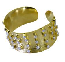 handsome Multi Gemstone Gold Plated Multi Bangle genuine jaipur US gift - $21.77