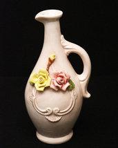 Elegant vintage Capo-Di-Monte ewer/pitcher (marked on base). - $280.00