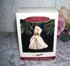HALLMARK ORNAMENT HOLIDAY BARBIE #2 1994 MIB - $16.82