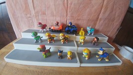 LOT Of 13 PAW PATROL FIGURES *Zuma's Hovercraft*Vehicle & Chase 's Polic... - $17.81