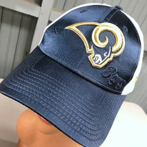 St. Louis Rams Los Angeles NFL Satin Girly Adjustable Baseball Cap Hat  - £11.04 GBP