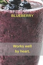 BLUEBERRY: Notebook, Diary, Notebook paper, creative live (110 Pages, Bl... - $12.34