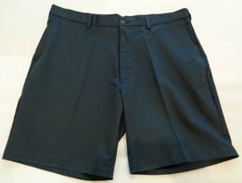 Roundtree & Yorke Size 46 EXPANDER WAIST Navy Blue Flat Front New Mens S... - $37.25