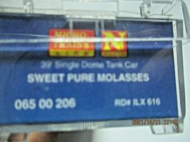 Micro-Trains Stock # 06500206 Sweet Pure Molasses 29' Tank Car N-Scale image 5