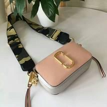 Marc Jacobs Snapshot Small Camera Bag Crossbody Bag Light Pink Multi Auth - ₨14,032.04 INR