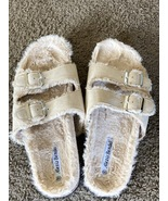 Women's House Slippers with fur. - $7.00