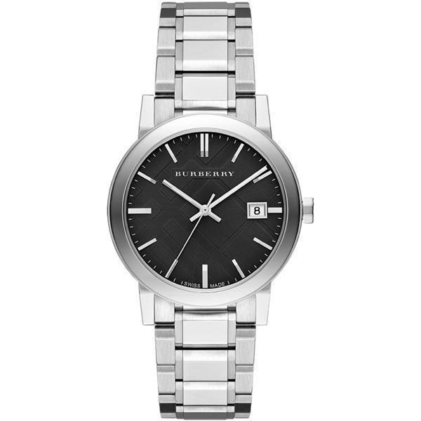 fe8dfb262ae8 Burberry bu9001 1. Burberry bu9001 1. Burberry Large Check Stainless Steel Black  Face Analog Mens Watch BU9001