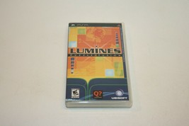 Lumines Puzzle Fusion - Sony PSP, 2005 - CIB Complete With Manual Ubisoft - $5.93