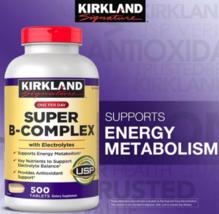 Kirkland Signature Super B-Complex with Electrolytes 500 Tablets EXPRESS... - $95.89