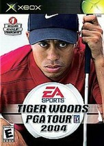 Tiger Woods PGA Tour 2004 - Microsoft Xbox [Used] Golf - $5.93