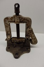 "Vintage Reed Manufacturing Pipe Vise 2 1/2"" No. 73 Pat. Aug 11, 1914 Eri... - $99.99"