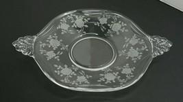 Fostoria Willowmere Li Iner / Under Plate Etched Crystal - $16.95