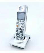 Panasonic kx-tga101s Cordless Phone Replacment Handset With Cradle - $13.99