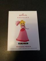 2019 Hallmark Ornament Nintendo Super Mario Princess Peach Ornament - $17.82