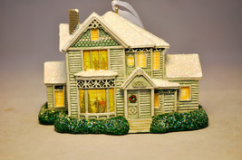 Hallmark: Thomas Kinkade - Victorian House - Seasons Ornament - $9.79