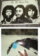 We All Shine On Poster Jimi Hendrix The Doors John Lennon - $16.99