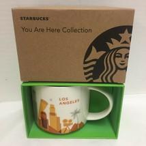 Starbucks Los Angeles Coffee Mug You are Here Movie Camera Beach New - $37.39