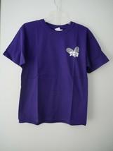 NCAA TCU Horned Frogs Girls Patterned Heart Short Sleeve Cotton T-Shirt XL NWT - $14.85