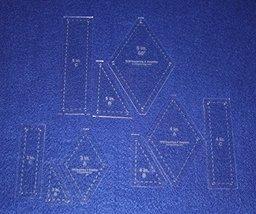 "Diamond in Center Design- 9 Piece Set - 1/8"" - $31.99"