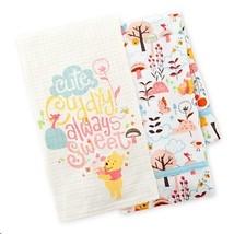 Disney Parks Winnie the Pooh Dish Towel Set - $44.54