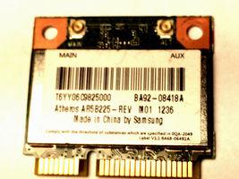 Samsung BA92-08418A b/g/n Wireless BT 4.0 PCIe Half Atheros AR5B225 OEM image 3