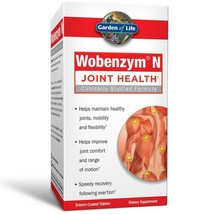 Garden of Life Joint Support Supplement - Wobenzym N Systemic Enzymes, 2... - $177.63