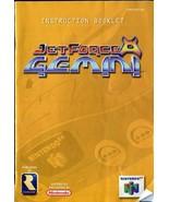 Jetforce Gemini - Nintendo 64 (N64) - Instruction Manual Booklet ONLY! - $6.23
