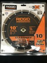 Ridgid 10 in. Masonry Diamond Blade 12 mm Jumbo Rim SG10CP - $39.59