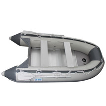 BRIS 9.8ft Inflatable Boat Tender Fishing Raft Dinghy Boat + Free Launch Wheels image 2