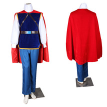Disney Snow White Schneewittchen Prince Charming Cosplay Costume - $108.59