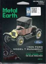 Fascinations Metal Earth 1925 Ford Model T Runabout Laser Cut 3D MMS207 - $11.95