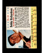 1963 POST CEREAL #13 BOBBY RICHARDSON GOOD YANKEES  *X00460 - $14.85