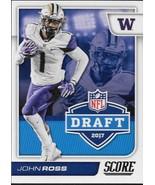 2017 Score NFL Draft #11 John Ross NM-MT - $0.99