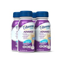 Glucerna Advance Shake, Vanilla, 8 fl oz (Pack of 4) - $12.74