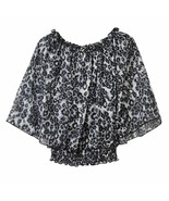 IZ Amy Byer Cheetah Butterfly Blouse Top Skirt Girls 7-16 M 8-10 - $19.99