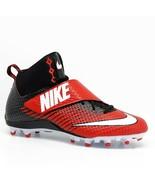 Nike Lunarbeast Strike Pro Mid 3/4 TD Mens 13.5 Football Cleats FREE SOCKS - $13.97