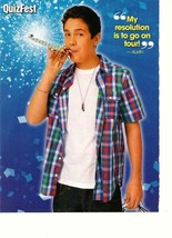 Austin Mahone teen magazine pinup clipping Quizfest party time - $1.50