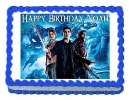 Percy Jackson & the Sea of Monsters Edible Cake Image Cake Topper - $8.98+