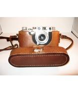 LEICA camera, 1938, Leitz Elmar lens, German, in case (as is) - $595.00