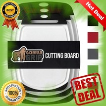 NEW Original Reversible Cutting Board (3-Piece), BPA Free Juice Grooves ... - $26.72 CAD