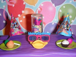 Rement Mickey Mouse Donald Duck Sunglasses Lot Fits Fisher Price Dollhou... - $17.99
