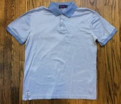Ralph Lauren Purple Label Mens Short Sleeve Golf Shirt Size Medium - $38.62