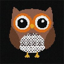 Easy Owl Needlepoint Canvas - $39.60