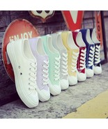 Women Canvas Shoes Casual Sneakers Low Unisex Brand New Top High Ox S 8 ... - $26.99+