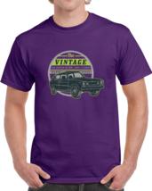 Alstyle Mens Classic Cotton Crew Neck Short Sleeve T-Shirt Retro Car Tee S-6XL - $19.99+