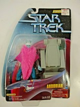 "Playmates 1998 Star Trek Classic TOS Andorian 4.5"" Action Figure WF Series 4 Au2 - $14.14"