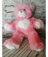 Valentines Build A Bear Pink Teddy Bear Plush Heart Stuffed Animal Girl ... - $11.87
